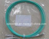 (CATV Telecom) LC-Sc Duplex Fiber Optic Jumper Patch Cord Cable