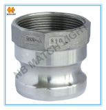 Stainless Steel Adapter Type a Female BSPP Threaded Quick Coupler