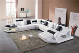 Living Room Sectional Modern Home Leather Sofa
