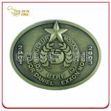 Vintage Design Die Casting Alloy Metal Belt Buckle for Souvenir