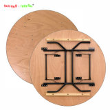 Supply Cheap Plywood Round 6FT Folding Table