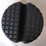 Small Slot Solid Blocks Pads Rubber Mounts for Car Trolley