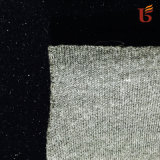 Shiny Dyed Polyester Velour Bonded with Foam & Polyester Knitting Fabric