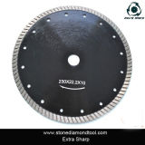 Sintered Diamond Turbo Saw Blade, Granite Cutting Disc