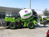 Jbc-32 3.2 Cube Meter Self-Loading Automatic Concrete Mixer Truck