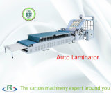 Automatic High Speed Flute Laminator Machine with Pile Turner