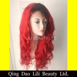 Brazilian Virgin Lace Frontal Human Hair Wig Wholesale Remy Silky Straight Ombre Full Lce Wig