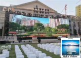 P3.91 P4.81 IP65 Outdoor Curtain Rental LED Display Nationstar Lamp 6000 Nits Brightness for Stage and Exhibition