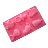 Silicone Cake Pan Baking Mold with Shape of Baby Toys