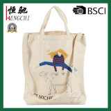 Wholesale Cotton Tote Gift Bag Double Handle Shopping Bag for Promotion