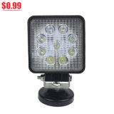 Cheap LED Working Lights 27W 4 Inch Epistar Spot Flood Beam Auto Work Light LED Working Light