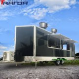 Tranda 7X23 Custom Mini Ice Cream Food Trucks China Mobile Food Trailers Cart Stainless Steel Hot Dog Food Carts Sell Made in China