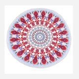 Microfiber Terry Round Beach Towel Blanket-2018 New Developed Antibacterial Quality Digital Printing and High Colour Fastness Super Water Absorbent Towel
