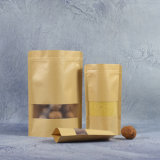 Personalized Price Branded Gold Greaseproof Printing Grocery Mailer Carrier Kraft Paper Bags