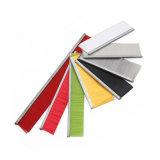 Colorful Nylon Bristle Aluminium Plastic Holder Door Bottom Door Seal Brush Strip