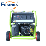 New Type Home Use Small Portable Petrol 2kVA Gasoline Generator with Electric Start and Battery (FC2500E)