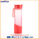 Latest Styl Various Size Wholesale Red Water Bottle Glass