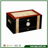 Wooden Cigar Box and Cigar Cabinet