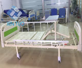 Durable Three-Cranks Manual High-Low Adjustable Hospital Bed