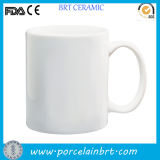 Good White Plain Ceramic Mug Cup Custom