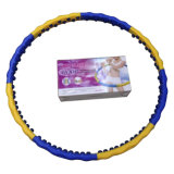 Weighted Hula Hoop with Massage Balls Js-6018