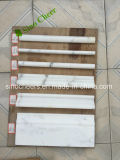 Home Decorative Moulding White Marble Moulding, Marble Flooring Border Designs, Marble Floor Skirting