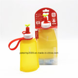 300ml Food Grade Silicone Collapsible Water Bottle for Children