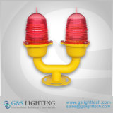 Low Intensity Double Beacon Light Obstruction Light