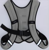 Man Use Weight Vest with Reflective Strap