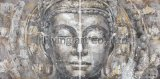 Oil Painting Buddha Home Decoration Group