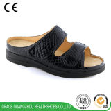 Women Health Shoes Fashion Diabetic Slipper with Two Strap