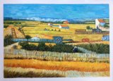 Van Gogh Masterpieces Reproduction Landscape Oil Painting of The Harvest