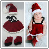 2020 New Cheap Red Santa Claus Costume