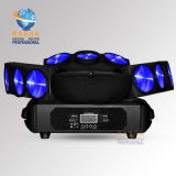 China Ce Approved 9*10W 4in1 RGBW LED Spider Light LED Effect Stage Light for Nightclub Party
