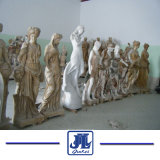 White Marble European Hero Caving Statues Carving Sculpture