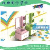 Preschool High Quality Furniture Bathroom Cabinet with Mirror (HJ-9401)