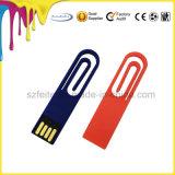 Paper Clip USB Stick Mini Paper Bookmark USB