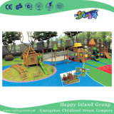 Nature Theme Park Wooden Outdoor Playground Slide (HJ-14401)