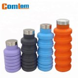 CL1C-GW152 Comlom Wholesale Foldable Silicone Water Bottle