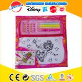 Kids Stationery Set Pretty Girls Cartoon Bag Crayon Stationery Set Stationery Wholesale Prices with Sticker