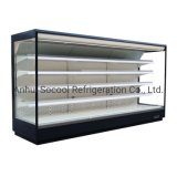 Remote Multideck Supermarket Refrigerator for Fruits and Vegetable Display