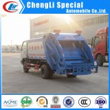 Dongfeng 4*2 Rubbish Collection Automatic Rear Compressor Garbage Truck