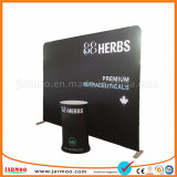 Custom 8FT 10FT 20FT Advertising Portable Pop up Aluminum Trade Show Display Exhibition Stand Straight Display Stand or Curved PVC Tension Fabric Display