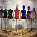 New Type Wrapped Female Cloth Half Body Mannequin with Hands and Stand