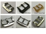 Solid Stainless Steel Brushed Watch Band Strap Buckle (watch parts)