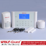 Best! New GSM+PSTN Alarm System with LCD Display and Touch Keypad (YL007M2DX)