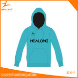 Healong Sportswear Man Hoodies No Zipper Sweater Teamwear