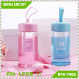 BPA Free Colorful Week Bottle with Silicone Handle Easy to Carry