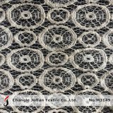 Thick Cord Circle Pattern Lace Fabric (M3149)
