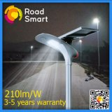 210lm/W All in One LED Garden Street Lamp with Lithium Battery